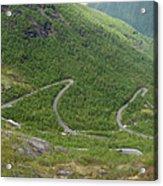 Gaularfjell Panorama Acrylic Print