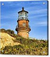 Gay Head Lighthouse Acrylic Print by John Greim