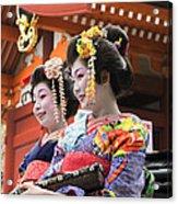 Geishas Senso Ji Acrylic Print