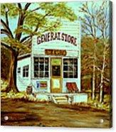 General Store 1902 Acrylic Print