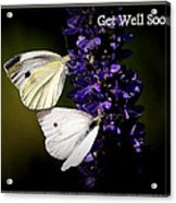 Get Well Soon Acrylic Print
