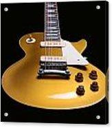 Gibson Les Paul Acrylic Print