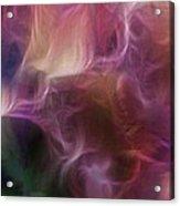 Gladiola Nebula Triptych Panel 1 Acrylic Print