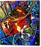 Glass Abstract 691 Acrylic Print