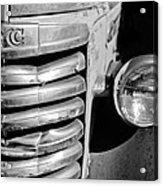 Gmc Truck Grille Emblem Acrylic Print