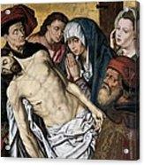 Goes, Hugo Van Der, Also Called Hugues Acrylic Print