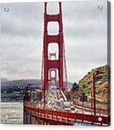 Golden Gate Bridge - San Francisco California Acrylic Print