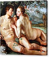 Goltzus' The Fall Of Man Acrylic Print