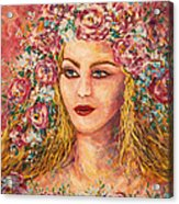 Good Fortune Goddess Acrylic Print