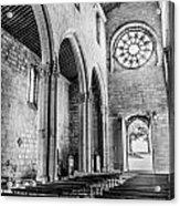 Gothic Monastery Acrylic Print