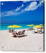 Grace Bay Beach Acrylic Print