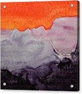 Grand Canyon Original Painting Acrylic Print