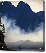 Grand Teton Sunset Acrylic Print