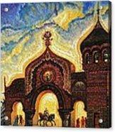 Great Gate Of Kiev Acrylic Print