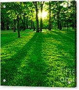 Green Park Acrylic Print