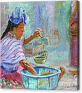 Guatemala Impression Iv Acrylic Print