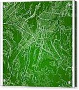 Guatemala Street Map - Guatemala City Guatemala Road Map Art On  Acrylic Print