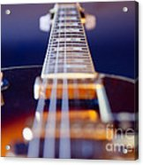 Guitar Acrylic Print by Stelios Kleanthous