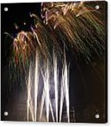 Guy Fawkes Night At Gloucester Quay. Acrylic Print
