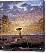 Halo On The American River Acrylic Print