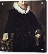 Hals, Frans 1580-1666. Portrait Acrylic Print