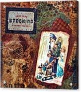 Hang Your Stocking Acrylic Print