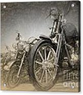 Harley Davidsons Acrylic Print