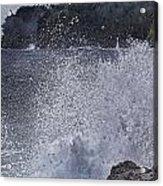 Hawaii Big Island Coastline V2 Acrylic Print