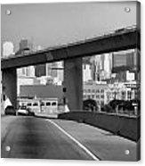 Heading Into The Busy Part Of San Francisco Acrylic Print