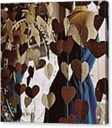 Hearts Aflutter Acrylic Print