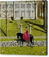 Her Favorite Horse Acrylic Print