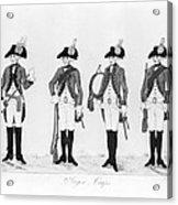 Hessian Soldiers Acrylic Print