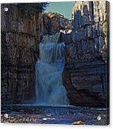 High Force Waterfall Acrylic Print