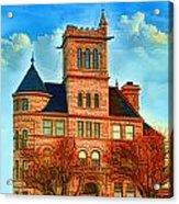 Historic City Hall Springfield  Mo Acrylic Print