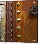 Historic Door Acrylic Print