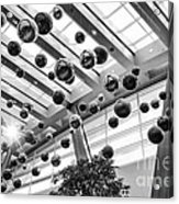 Holiday Glass Ornament Decorations At The Aria Resort And Casino Acrylic Print