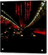 Holland Tunnel Lights Acrylic Print