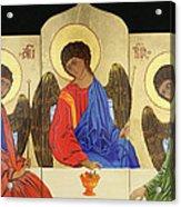 Holy Trinity Acrylic Print by Amy Reisland-Speer
