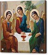 Holy Trinity - Sanctae Trinitatis Acrylic Print