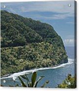 Honomanu - Highway To Heaven - Road To Hana Maui Hawaii Acrylic Print