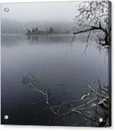 Hosmer Pond In Camden Maine Acrylic Print
