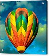 Hot Air Balloon Acrylic Print by Robert Bales