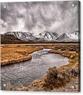 Hot Creek Acrylic Print by Cat Connor
