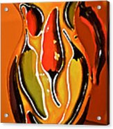 Hot Peppers Acrylic Print