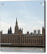 Houses Of Parliament Acrylic Print