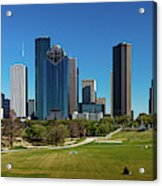 Houston, Texas - High Rise Buildings Acrylic Print