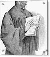 Huldreich Zwingli (1484-1531) Acrylic Print