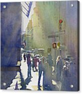 I Saw The Light At 44th And Broadway Acrylic Print