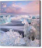 Iceland, Skaftafell, Jokulsarlon Acrylic Print