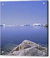 Ilulissat Icefjord Greenland Acrylic Print